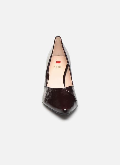 Escarpins HÖGL Cosmos Bordeaux vue portées chaussures