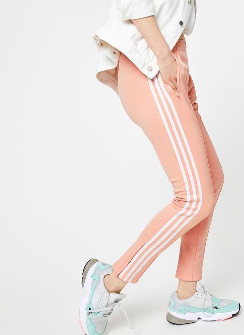 Kleding adidas originals Sst Tp W Roze detail