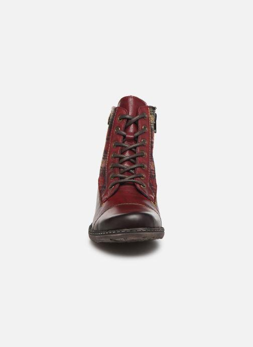 Bottines et boots Remonte Annabelle Bordeaux vue portées chaussures