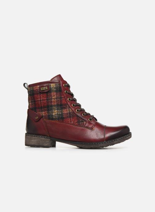 Bottines et boots Remonte Annabelle Bordeaux vue derrière