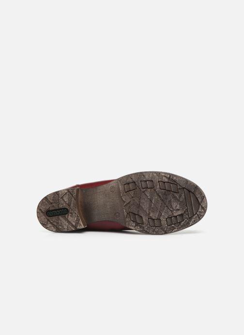 Bottines et boots Remonte Annabelle Bordeaux vue haut