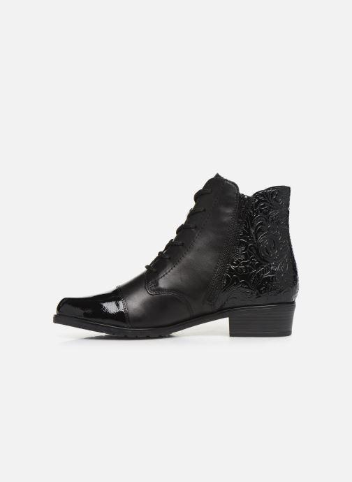 Bottines et boots Remonte Fiola Noir vue face
