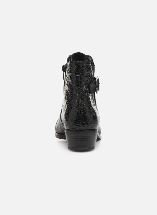 Bottines et boots Remonte Fiola Noir vue droite