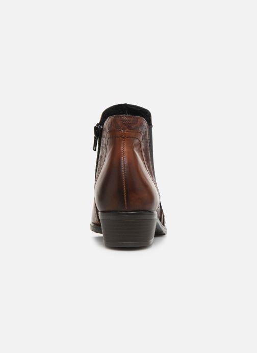 Bottines et boots Remonte Pilar Marron vue droite