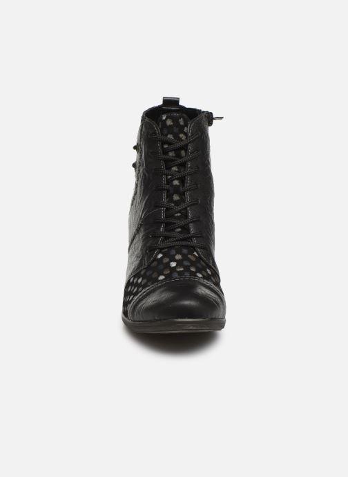 Bottines et boots Remonte Manon Noir vue portées chaussures