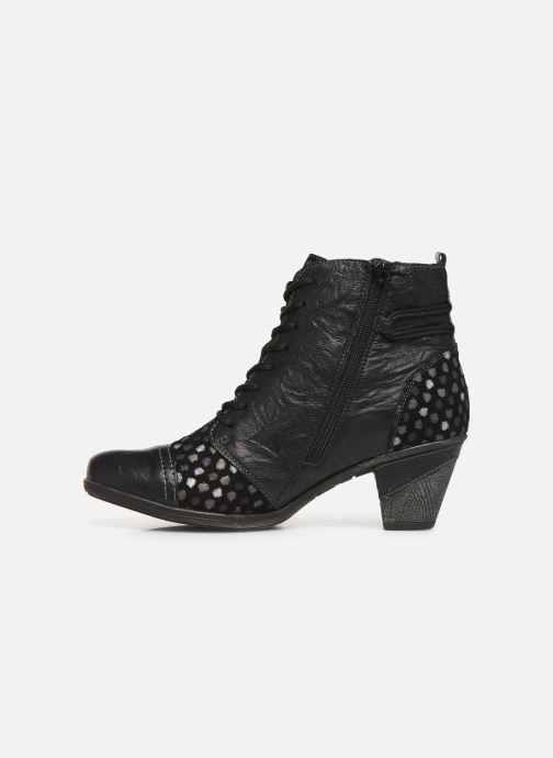 Bottines et boots Remonte Manon Noir vue face