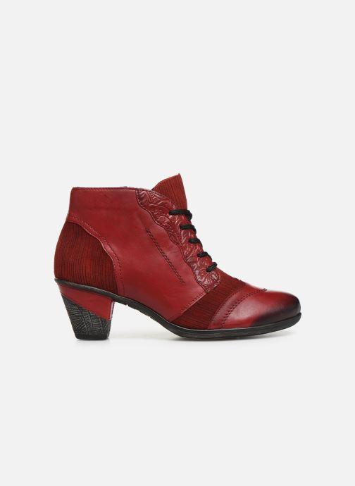 Bottines et boots Remonte Moon Rouge vue derrière