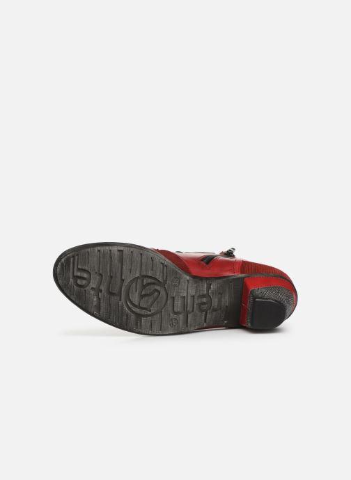 Boots en enkellaarsjes Remonte Moon Rood boven