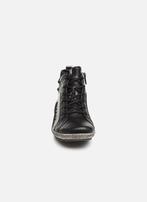 Baskets Remonte Nora Noir vue portées chaussures