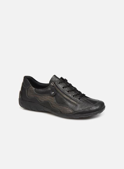 Sneakers Remonte Caroline Sort detaljeret billede af skoene