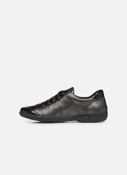 Sneakers Remonte Marilou Zwart voorkant