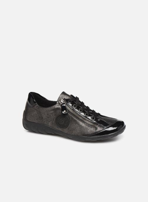 Sneakers Remonte Marilou Sort detaljeret billede af skoene