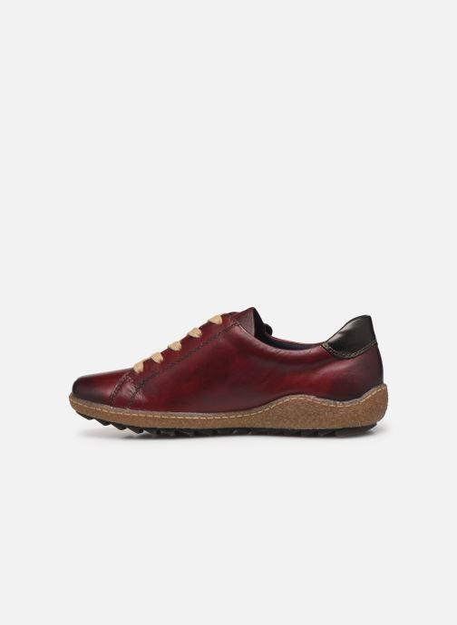 Sneakers Remonte Purpl Bordeaux se forfra