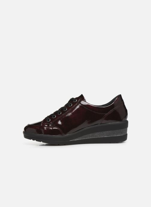 Trainers Remonte Elisa Burgundy front view