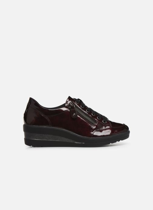 Trainers Remonte Elisa Burgundy back view