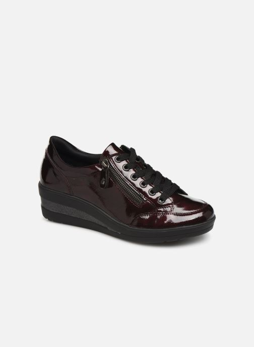 Trainers Remonte Elisa Burgundy detailed view/ Pair view