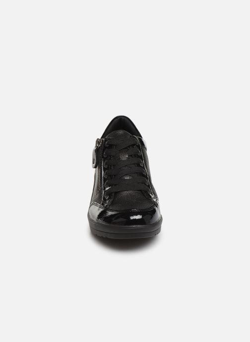Sneaker Remonte Elisa schwarz schuhe getragen