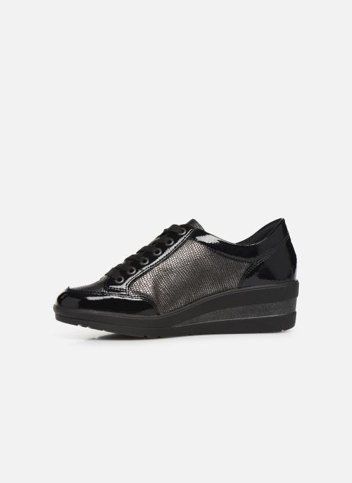 Sneaker Remonte Elisa schwarz ansicht von vorne