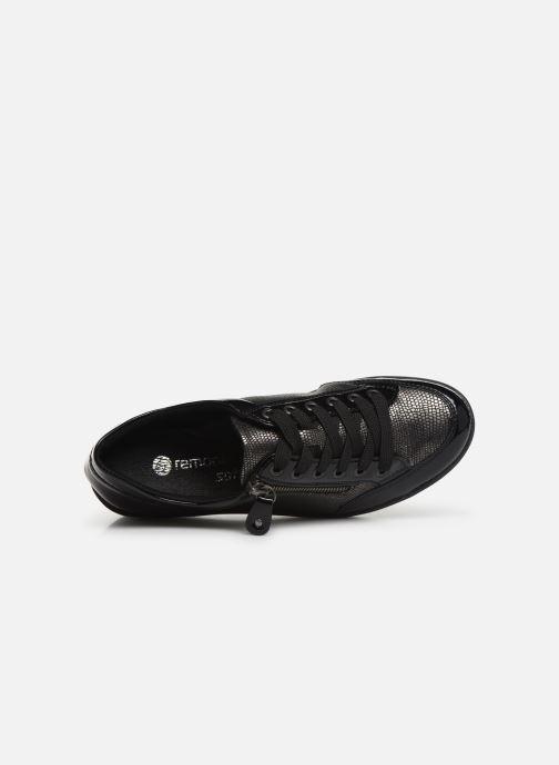 Sneaker Remonte Elisa schwarz ansicht von links