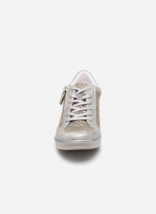 Baskets Remonte Elisa Gris vue portées chaussures