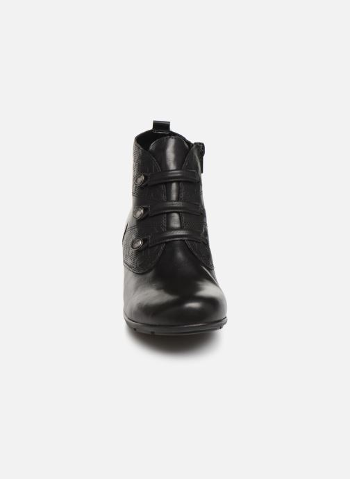 Boots en enkellaarsjes Remonte Moana Zwart model