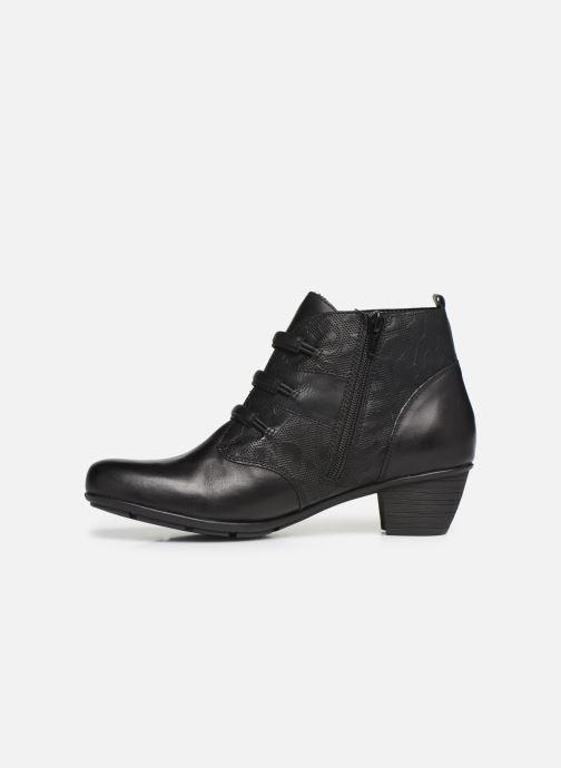 Boots en enkellaarsjes Remonte Moana Zwart voorkant