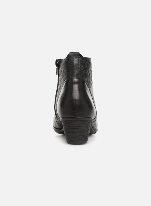 Boots en enkellaarsjes Remonte Moana Zwart rechts