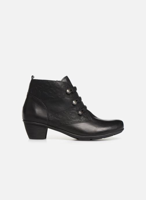 Boots en enkellaarsjes Remonte Moana Zwart achterkant