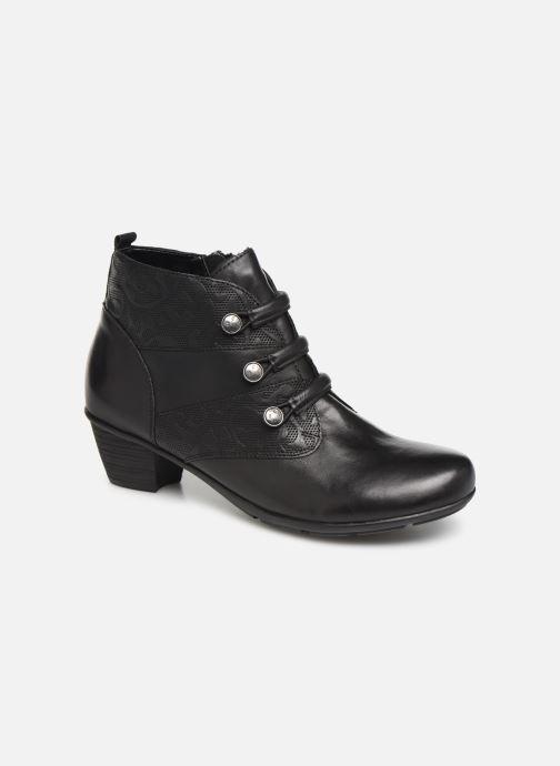 Boots en enkellaarsjes Remonte Moana Zwart detail