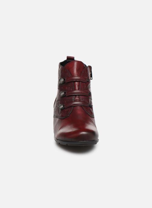 Boots en enkellaarsjes Remonte Moana Bordeaux model