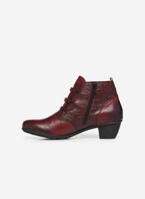 Bottines et boots Remonte Moana Bordeaux vue face