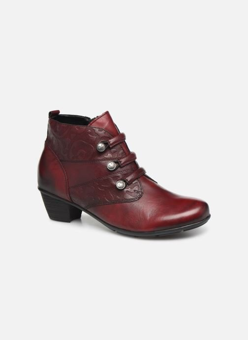 Ankle boots Remonte Moana Burgundy detailed view/ Pair view