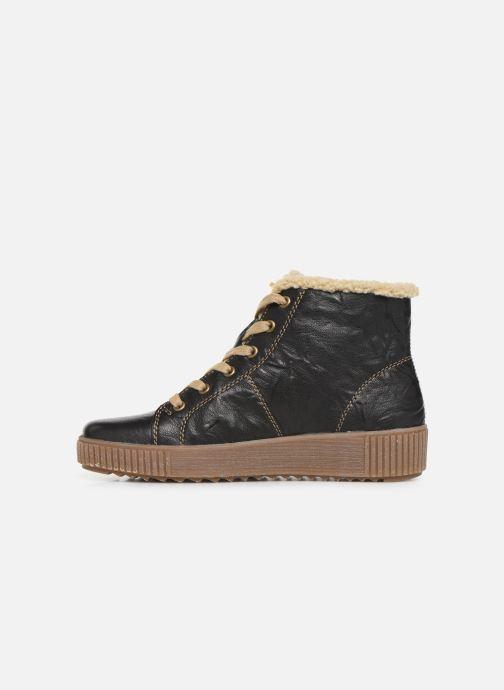 Bottines et boots Remonte Doulou Noir vue face