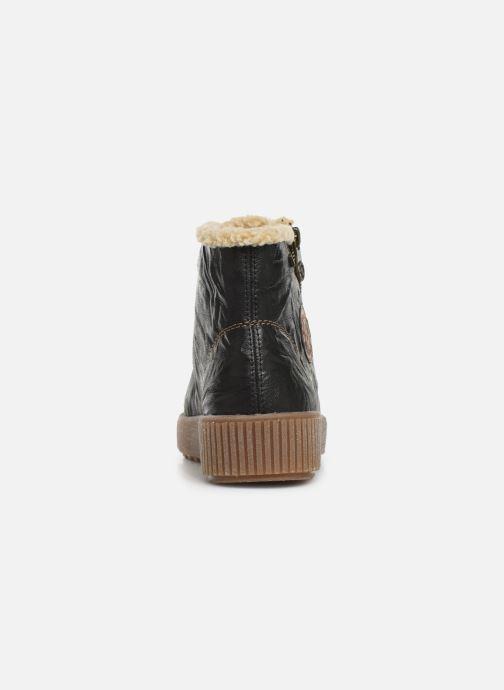 Bottines et boots Remonte Doulou Noir vue droite