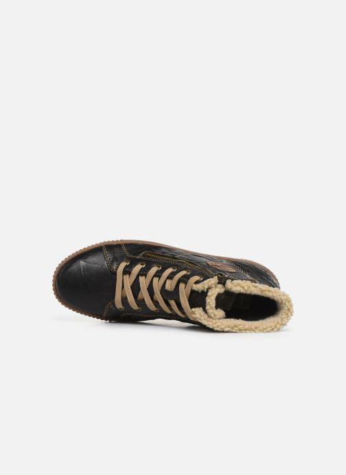 Bottines et boots Remonte Doulou Noir vue gauche