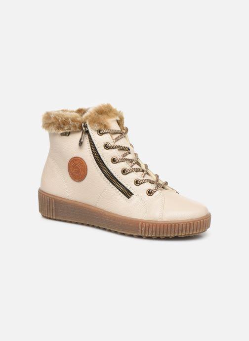 Bottines et boots Remonte Doulou Beige vue détail/paire