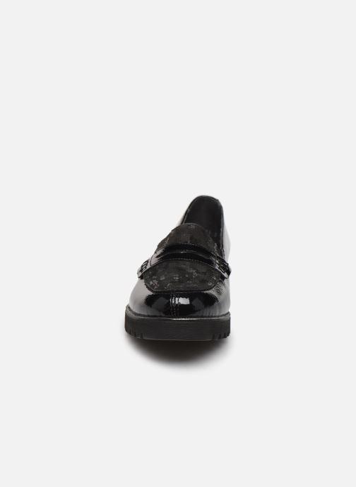 Mocasines Remonte Alba Negro vista del modelo
