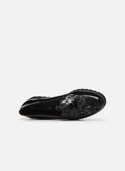 Loafers Remonte Alba Black view from the left