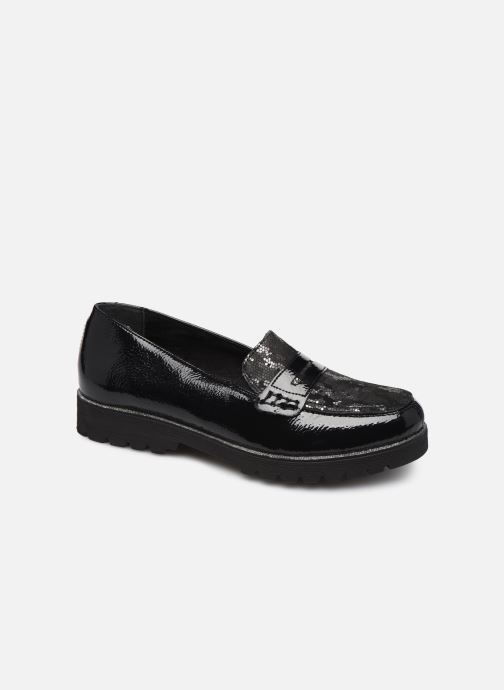 Loafers Remonte Alba Black detailed view/ Pair view