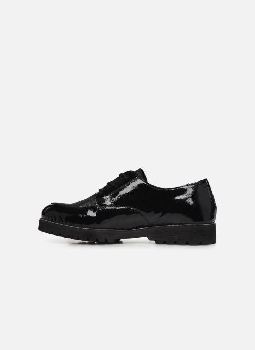 Zapatos con cordones Remonte Monica Negro vista de frente