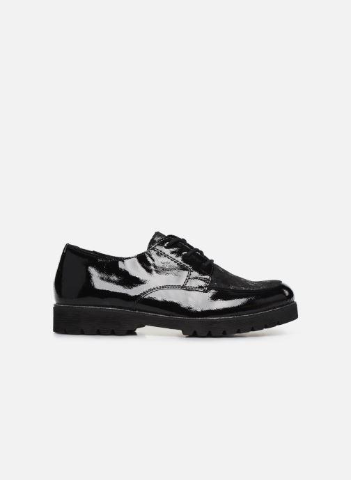 Zapatos con cordones Remonte Monica Negro vistra trasera