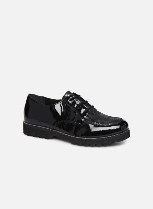 Zapatos con cordones Remonte Monica Negro vista de detalle / par