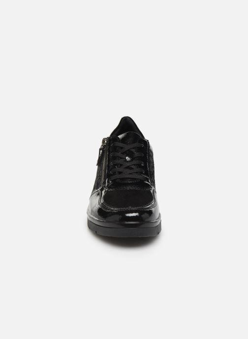 Sneaker Remonte Kloé schwarz schuhe getragen