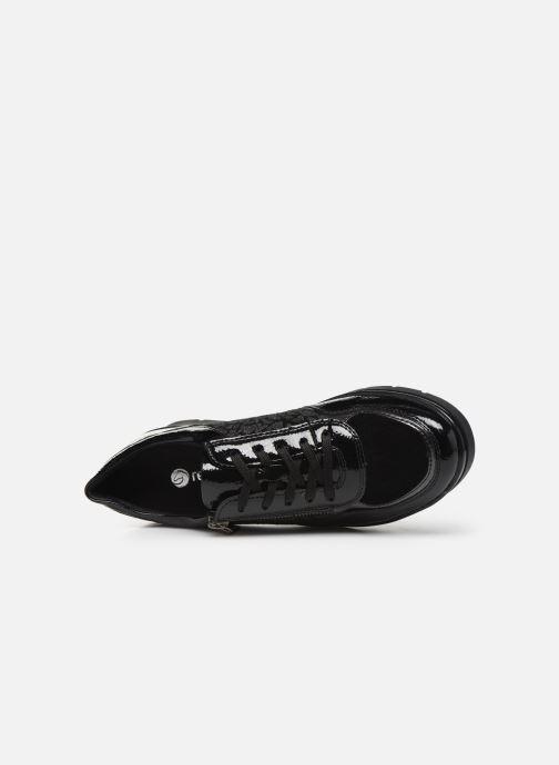 Sneaker Remonte Kloé schwarz ansicht von links