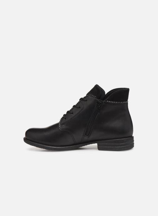Bottines et boots Remonte Albia Noir vue face