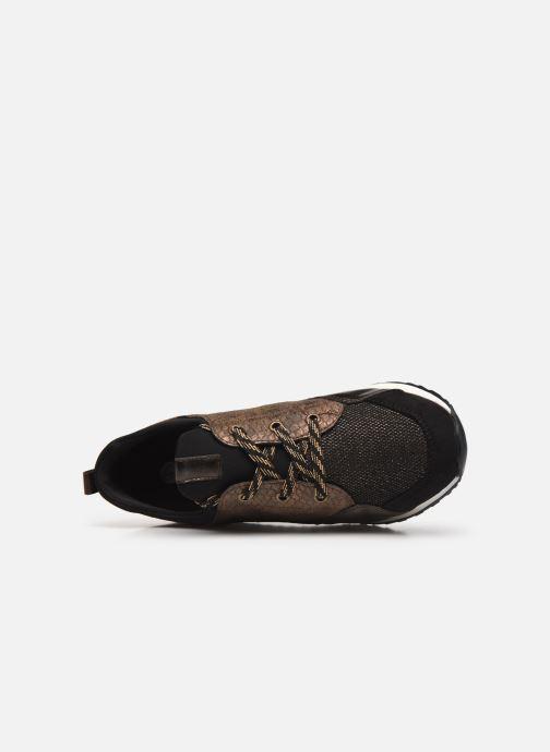 Sneaker Remonte Nia braun ansicht von links