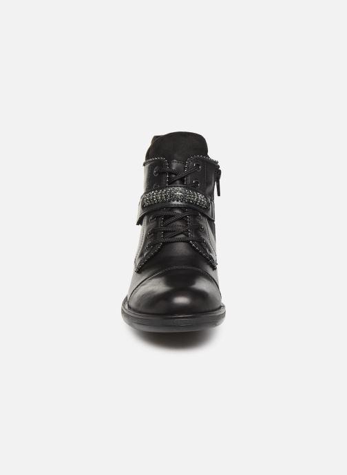Bottines et boots Remonte Hulio Noir vue portées chaussures