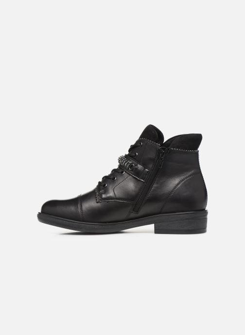 Bottines et boots Remonte Hulio Noir vue face