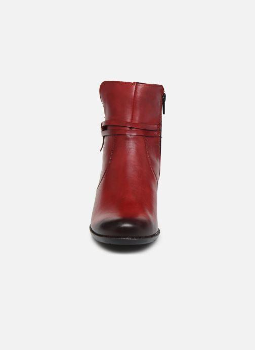 Bottines et boots Remonte Draf Rouge vue portées chaussures