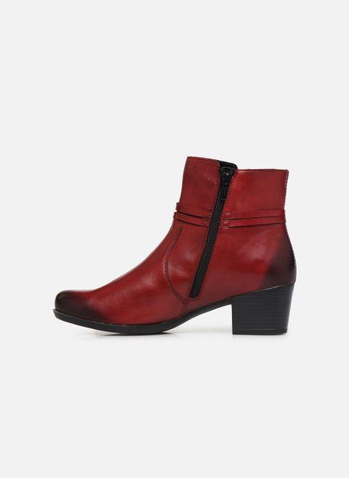 Bottines et boots Remonte Draf Rouge vue face